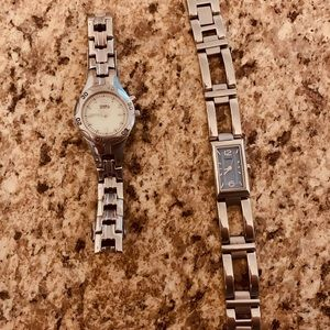 3 watches (2) fossil brand